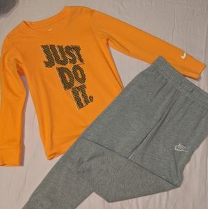 Boys 2pc outfit size 6/7